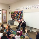 WDM Fire Department Visits Kindergarten photo album thumbnail 1