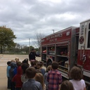 WDM Fire Department Visits Kindergarten photo album thumbnail 2